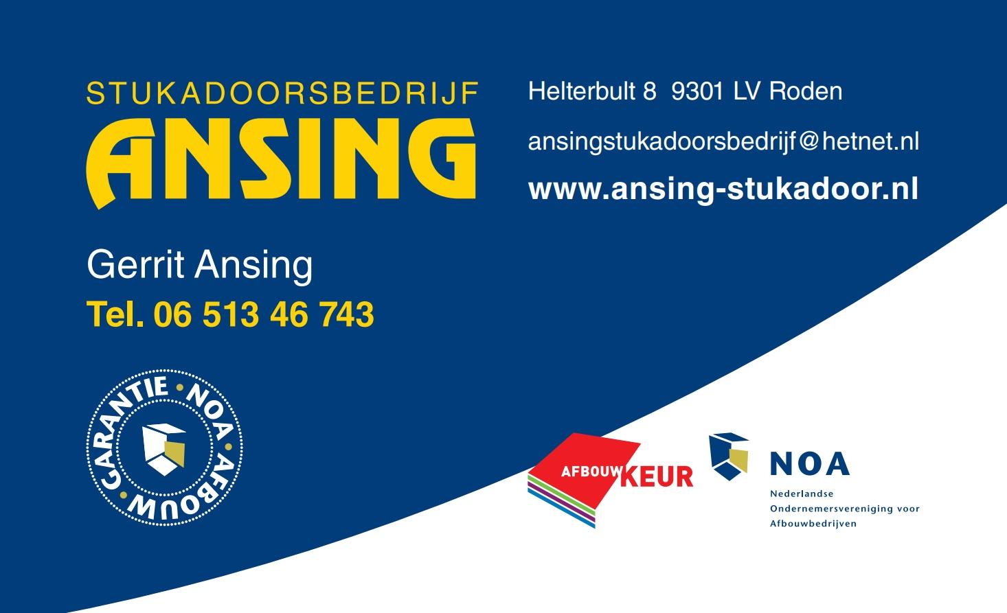 Ansing Stucadoorsbedrijf